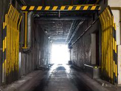 Industrial underpass Stock Photos