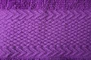 Stock Photo of texture of purple terry towels pattern
