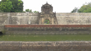 Stock Video Footage of fort santiago