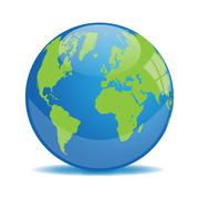 Stock Illustration of Earth globe vector illustration