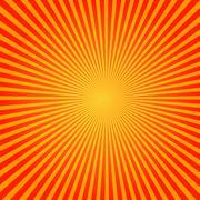 Vector sunburst pattern - stock illustration