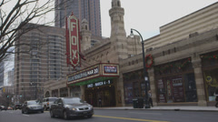 The Fox theatre - stock footage