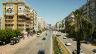 Stock Video Footage of ANTALYA - APRIL 23: City traffic at 100. Yil Bulvari on April 23, 2013 in