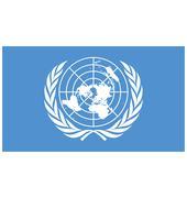 Flag of united nations Stock Illustration