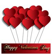 Stock Illustration of happy valentines day
