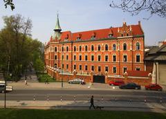 poland krakow, major seminary archdiocese - stock photo