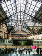 Train station in London - stock photo