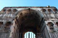 Stock Photo of janus arch in Rome