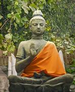 Statue buddhism. Stock Photos