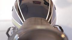 Kawasaki 900 Seat and Gas Tank Stock Footage