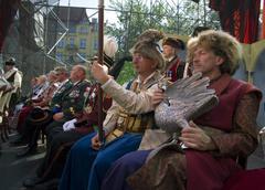Poland krakow fowler brotherhood one of the oldest organization in poland Stock Photos