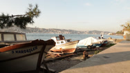 Stock Video Footage of Boats parking on Bosporus