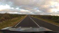 Driving on Great Ocean Road, Australia Stock Footage