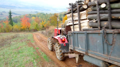Tractor - stock footage
