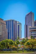Rahoituksen alueella Honolulu Kuvituskuvat