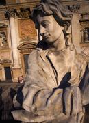 Poland krakow baroque st peter and st paul church apostles statues Stock Photos