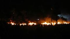 Riot in Kiev, Ukraine - stock footage