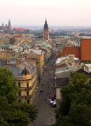 Poland, krakow, slawkowska street Stock Photos