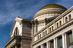 Exterior architecture at the smithsonian national museum of natural history,  Stock Photos