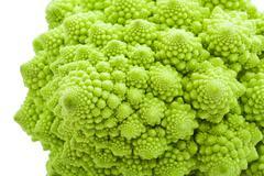 Romanesco broccoli - stock photo