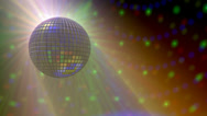 Stock Video Footage of disco ball 12s