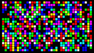 Stock Video Footage of Colorfull pixels