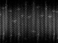 Dark Steel Metal Hole Texture Background Stock Illustration