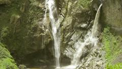 Agoyan waterfall in vicinity of Banos, Ecuadorian Andes Stock Footage