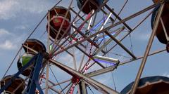 1167  Ferriswheel Stock Footage