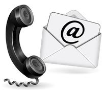 Contact icon Stock Illustration