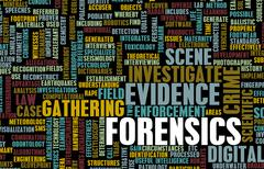 Forensics Stock Illustration