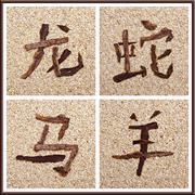 chinese zodiac part 2 - stock photo