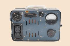 transformer of the last century - stock photo