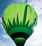 green balloon - stock photo