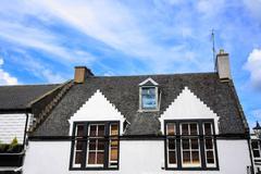 Old house, scotland Stock Photos