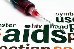 Hiv- aids concept Stock Photos