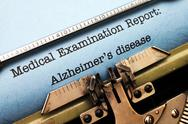 Stock Photo of alzheimer disease