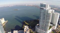 Miami highrise condos Stock Footage