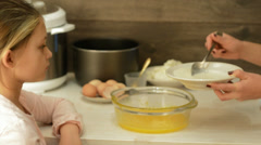 Stock Video Footage of cooking cheesecake, part five