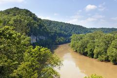 the kentucky river - stock photo
