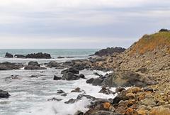 Stones beach Stock Photos