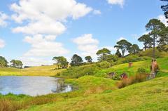 Hobbiton, Shire, Uusi-Seelanti Kuvituskuvat