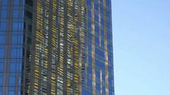 Las vegas city center buildings monolith Stock Footage