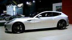 Ferrari FF Stock Footage