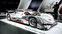 Audi R18 e-tron Qauttro Stock Footage