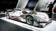Stock Video Footage of Audi R18 e-tron Qauttro