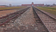 Stock Video Footage of Auschwitz concentration camp