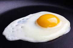 Fried egg Stock Photos