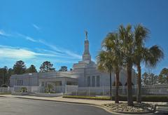 columbia temple - stock photo