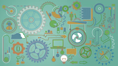 Mechanization Movement Stock Footage